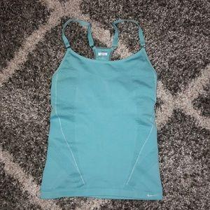 Nike Tiffany Blue Fit Dry Top